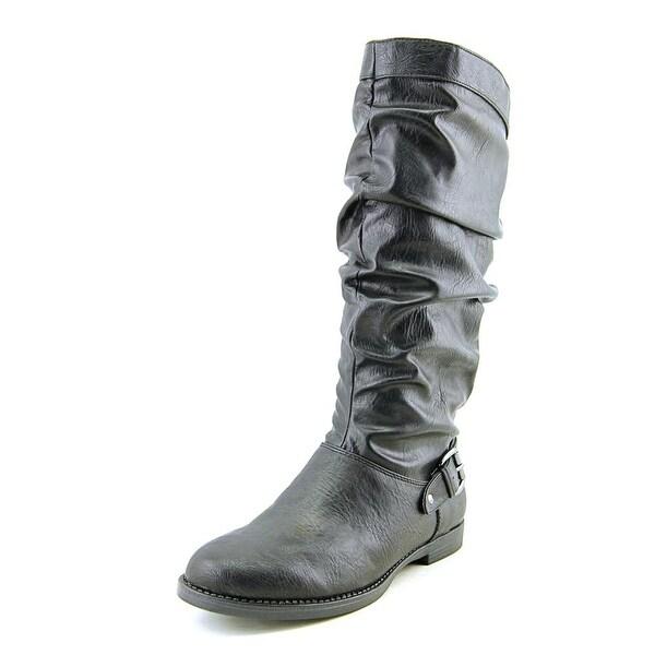 Easy Street Vigor Plus N/S Round Toe Synthetic Mid Calf Boot
