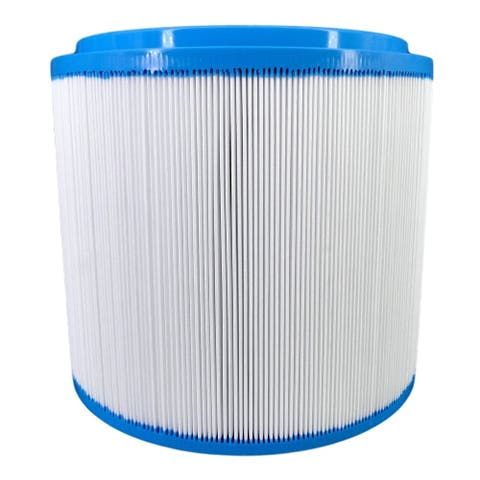"8"" White and Blue Filbur APCC7417 FC-1007 Filter Cartridge"
