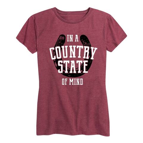Country State Of Mind - Women's Short Sleeve Graphic T-Shirt