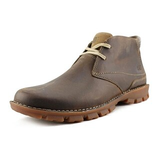 Caterpillar Mitch Men Round Toe Leather Brown Chukka Boot