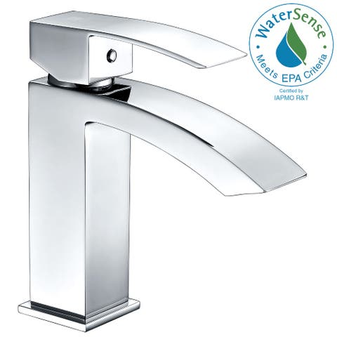 ANZZI Revere Single Handle Bathroom Sink Faucet