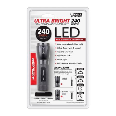 Feit Electric 72331 LED Flashlight, 240 Lumen