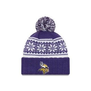 Minnesota Vikings Snowy Pom Women's Beanie