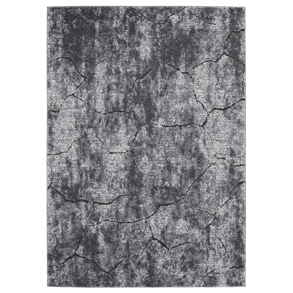 OverstockGray Stone Marble Abstract