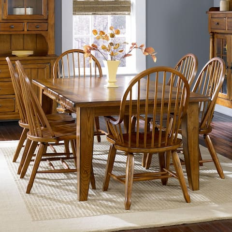 Treasures Rustic Oak 44x108 Dinette Table
