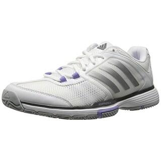 Adidas Womens Mesh Lace Up Tennis Shoes - 10.5 medium (b,m)