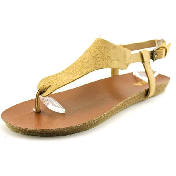 Mia Sylvia Women Open Toe Synthetic Thong Sandal
