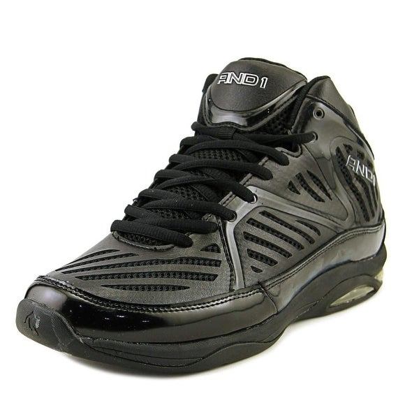 And1 Challenger Men Black Basketball Shoes