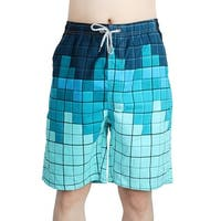 Beach Shorts Pockets Drying Board Surfing Running Swimming Swim Trunks