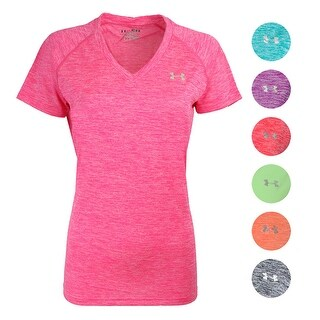 Under Armour Women's UA Twisted Tech V-Neck T-Shirt