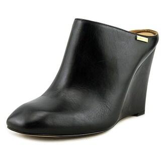 Calvin Klein Parie Women Black Clog Mules