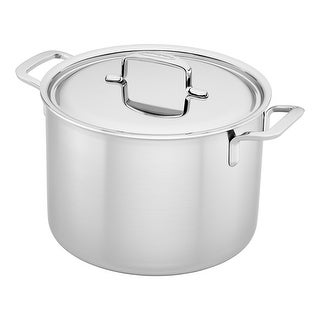 Demeyere 5-Plus Stainless Steel 8-qt Stock Pot - STAINLESS STEEL
