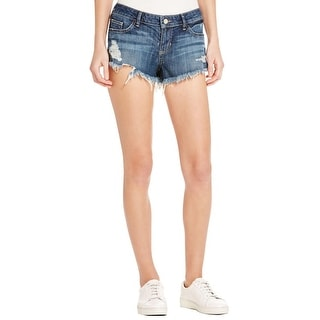 Guess Womens Kate Cutoff Shorts Cut Off Denim