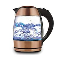 Brentwood KT-1960RG 1.8 litre Electric Glass Kettle with Tea Infuser
