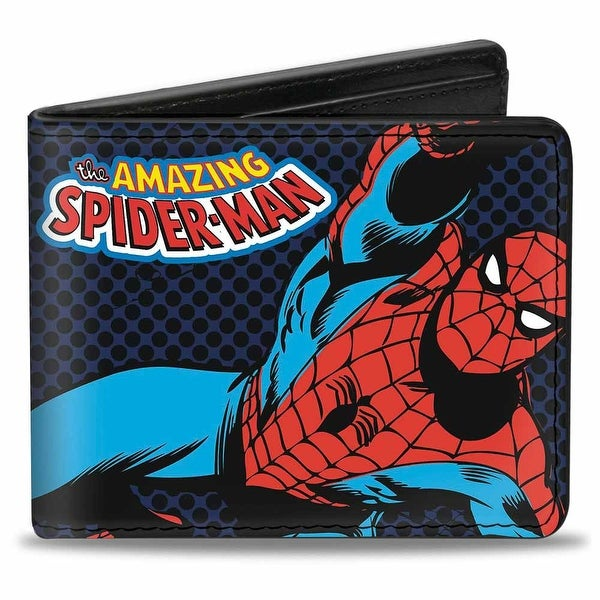 Marvel Comics The Amazing Spider Man Action Poses Bi Fold Wallet - One Size Fits most