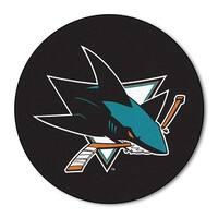 NHL - San Jose Sharks Puck Mat