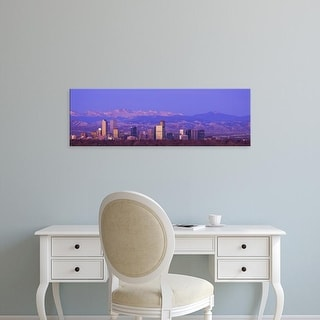 Easy Art Prints Panoramic Images's 'Denver, Colorado, USA' Premium Canvas Art