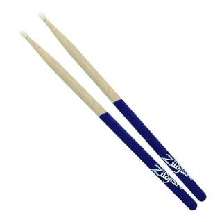 Zildjian 5B Purple Dip Nylon Tip Drumsticks