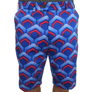 LoudMouth Golf Lounge Lizzard Flat Front Short, Brand NEW