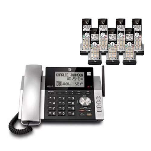 """""""AT&T CL84215 plus (5) CL80115 Corded / Cordless Phone"""""""