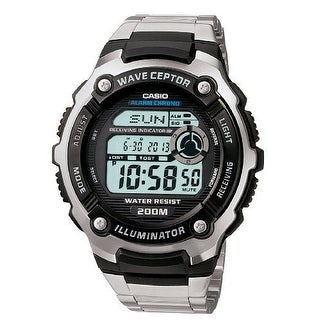 Casio Mens Multi-Task Gear Waveceptor Sports Watch