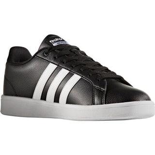 1a7fe981daa1 adidas Men s NEO Cloudfoam Advantage Stripe Court Shoe Core Black FTWR White Chalk  White