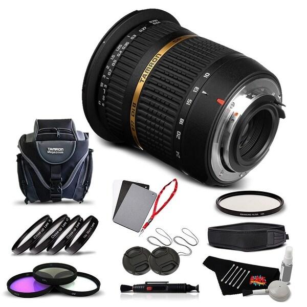 Tamron SP AF 10-24mm f / 3.5-4.5 DI II Lens For Pentax International Version (No Warranty) Advanced Kit - black