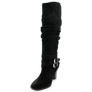 INC International Concepts Jordana Wide Calf Women Suede Knee High Boot