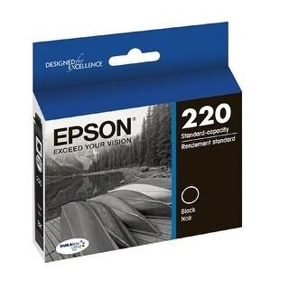 Epson T220120 Durabrite Ultra 220 Black Ink Cartridge