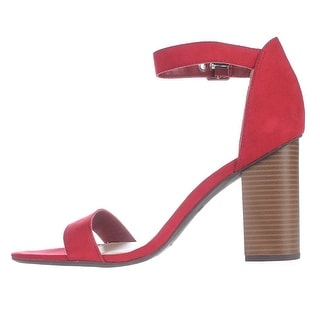 Bar III Womens Mikayla Open Toe Special Occasion Ankle Strap Sandals