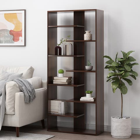 Sparks Indoor High Shelf Bookcase by Christopher Knight Home