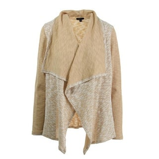 K&C Womens Textured Open Front Cardigan Sweater - M