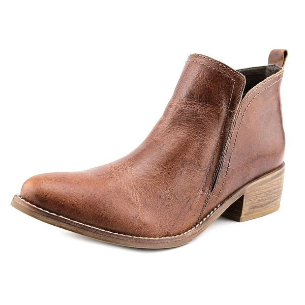 Matisse Wilder Women Plain Toe Leather Brown Bootie