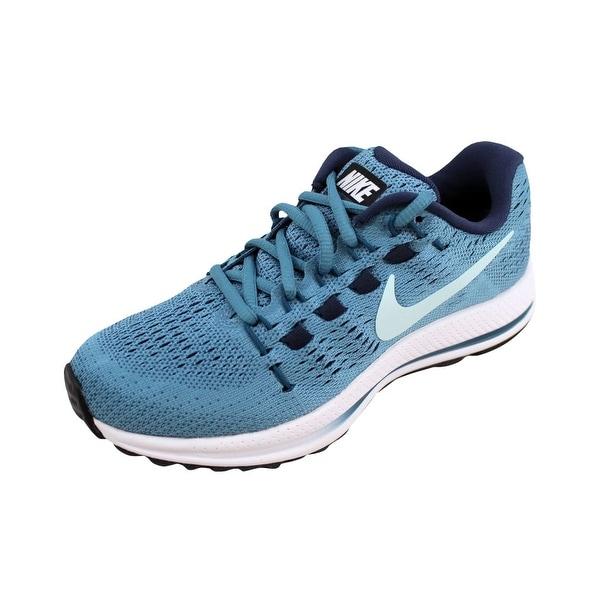 info for ab3fe 850ba Nike Women  x27 s Air Zoom Vomero 12 Cerulean Glacier Blue 863766-