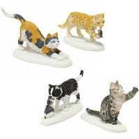 Department 56 Accessories for Villages Stray Cat Strut Accessory Figurine