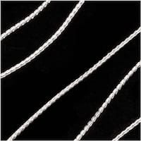 Sterling Silver Fine Snake Beading Chain .7mm Bulk By The Ft.