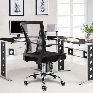 Link to Modern Home Zuna Mid-back Office Chair Similar Items in Arm Chairs