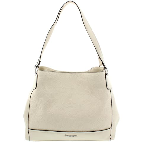 dfa4f7b1ea Franco Sarto Womens Alyse Shopper Handbag Embossed Faux Leather - Large