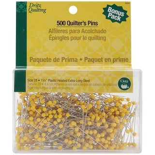 Dritz Quilting Quilter's Pins -Size 28 500/Pkg