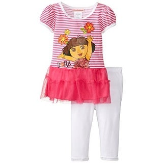 Nickelodeon Girls Striped Pant Outfit - 6x