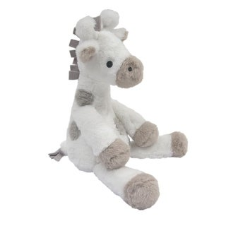 Lambs & Ivy White Signature Goodnight Giraffe Moonbeams Plush Giraffe 11.5 Inch - Millie