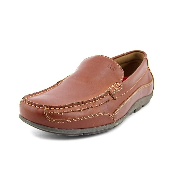 Tommy Hilfiger Dathan Men W Round Toe Synthetic Brown Loafer