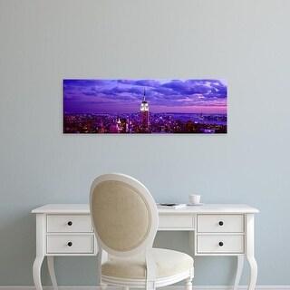 Easy Art Prints Panoramic Image 'Rockefeller Center, Midtown Manhattan, Manhattan, New York City, New York' Canvas Art