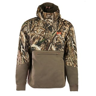 Under Armour Men's Storm Infrared Skysweeper Wind Hoodie - realtree max/dynamite - L
