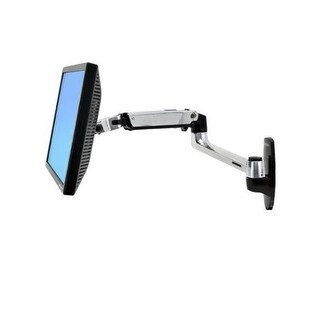 """Ergotron 45-243-026 Lx Wall Mount Lcd Arm For Up To 32"""" Monitor"""