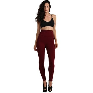 NE PEOPLE Womens High Waist Cotton Leggings Made in USA [NEWP45]