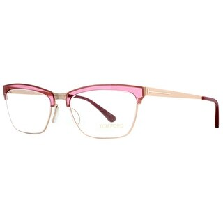 Tom Ford TF5392 071 54mm Red/Pink/Gold Women's Cat Eye Eyeglasses - Red/Gold - 54mm-18mm-135mm