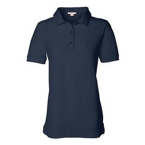FeatherLite Women's Pique Sport Shirt - Navy - L
