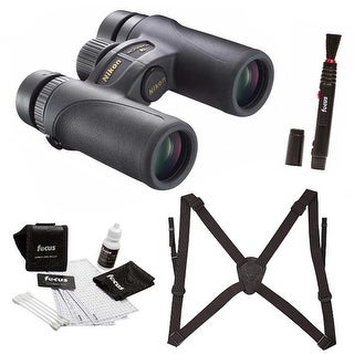 Nikon 8x30mm Monarch 7 Binocular (Black) with Advanced Accessory Kit