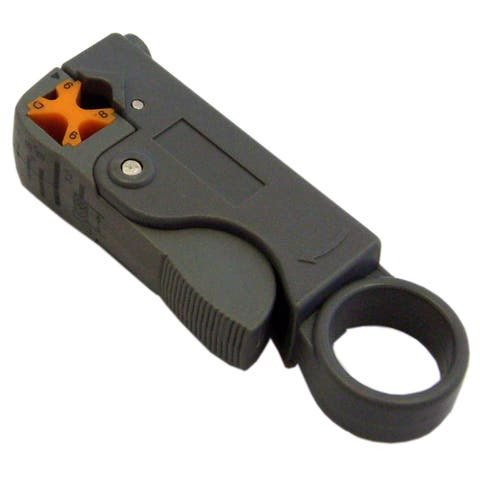 Offex Coaxial Cable Stripper, RG58, RG59 and RG6